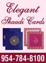 Elegant Shadi Card