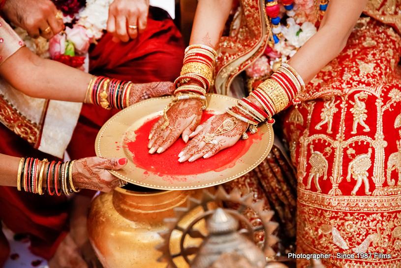 Mehndi in Brides Hand