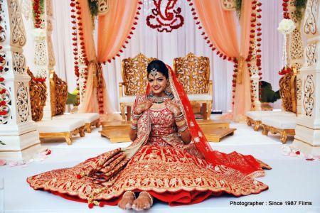 Gorgeous bride photoshoot