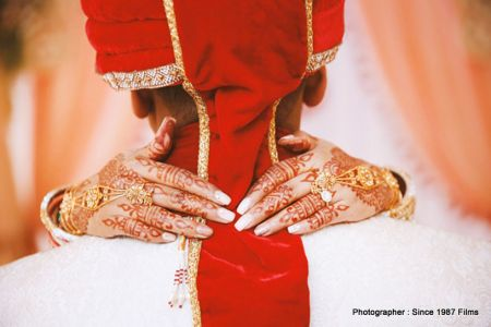 Mehndi Look of bride