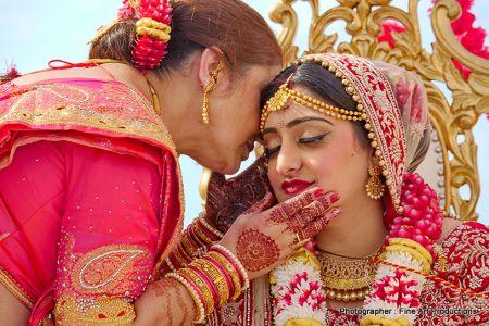 Heena on Brides Mother