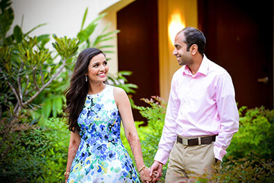 So in love capture of Indian couple.