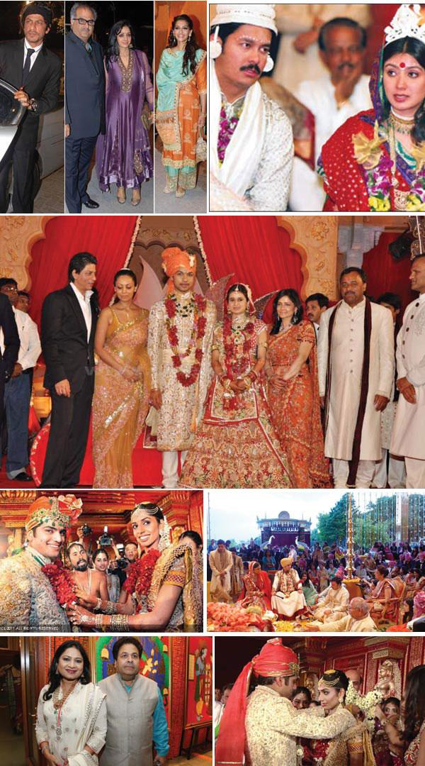 Top 10 Lavish Indian Weddings