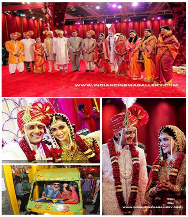 ritesh-genelia-wedding-stills
