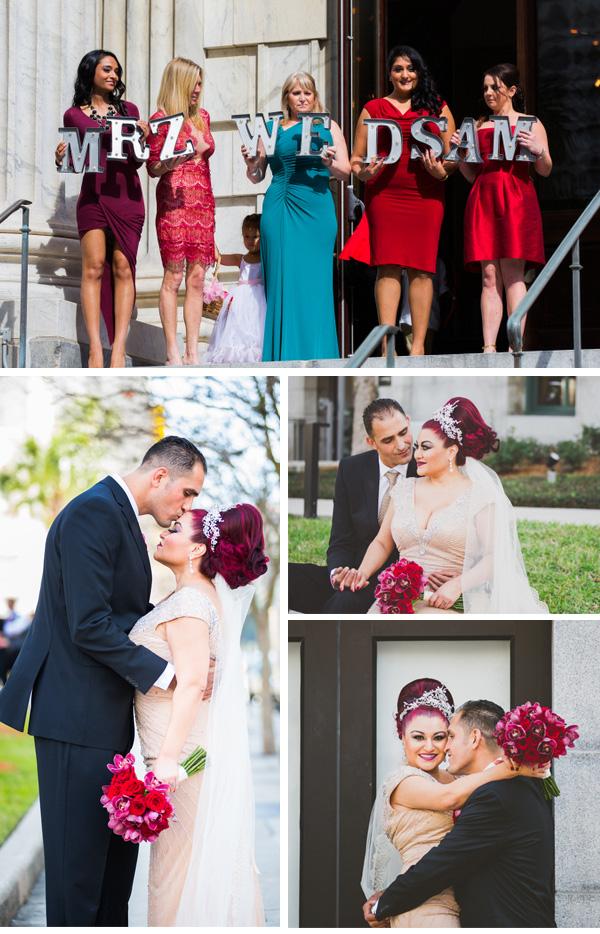 Michele Renee and Osama Wedding