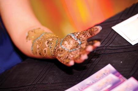 2014 Atlanta MyShadi Bridal Expo Mehndi Competition