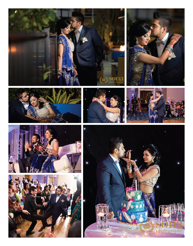 Reception of Shelly and Amit