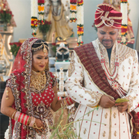 Amanda weds Rajesh