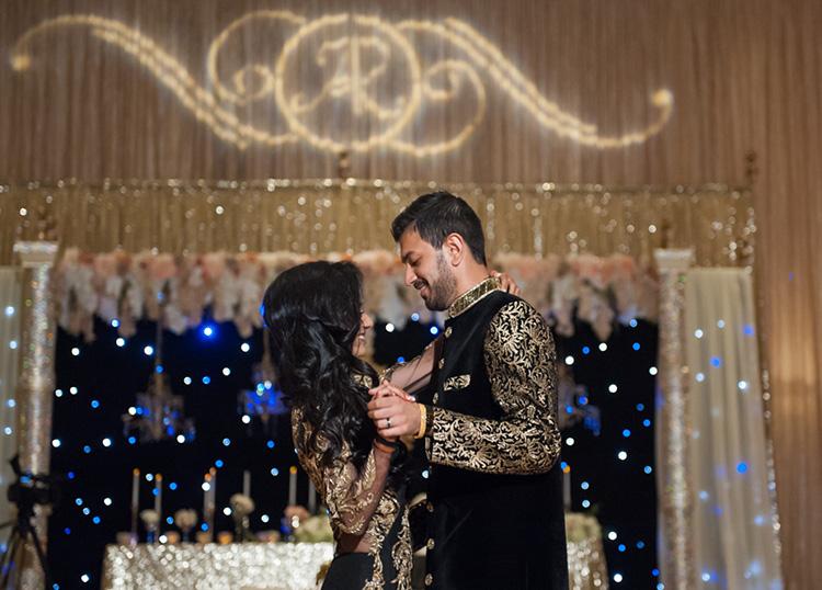 Reception of Ritisha and Abhishek