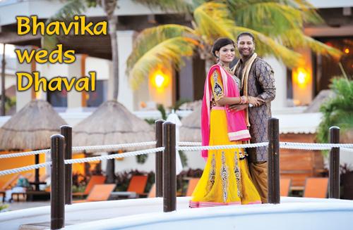 Bhavika weds Dhaval