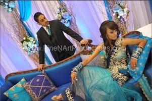 Nirmal and Hemali's Reception