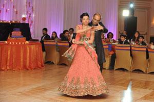 Reception of Ankur and Rachna