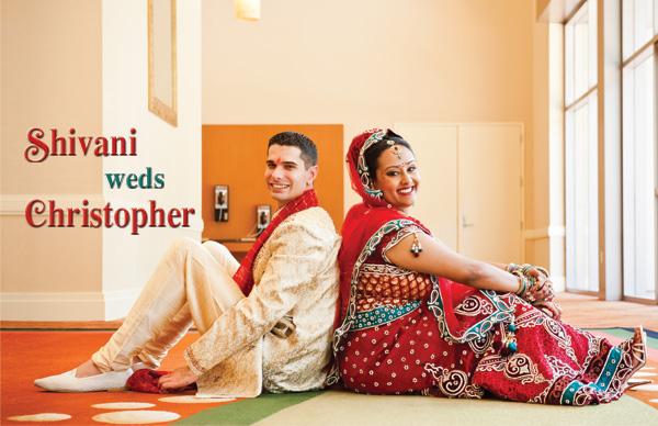 Shivani weds Christopher