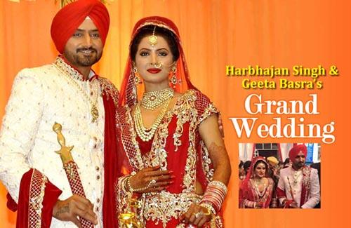 Harbhajan Singh & Geeta Basra's Grand Wedding
