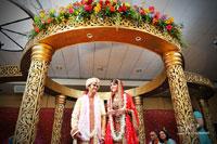 Hitesh and Amy Mandap