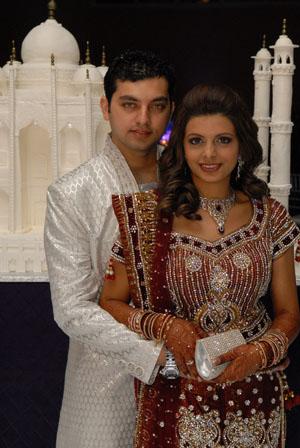 Taj Mahal themed wedding Sharjeel Weds Nazreen