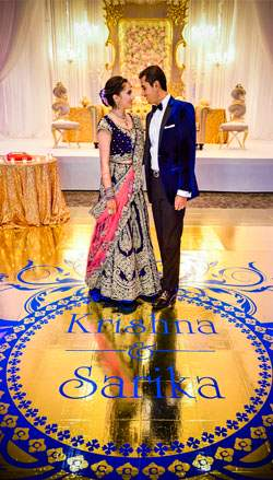 Reception of Sarika and Kishan