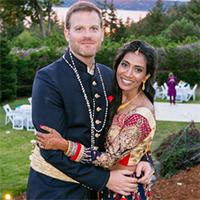 Vinisha Bhatia and Carson Murdach