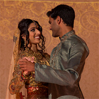 Indian Fusion Styled Shoot