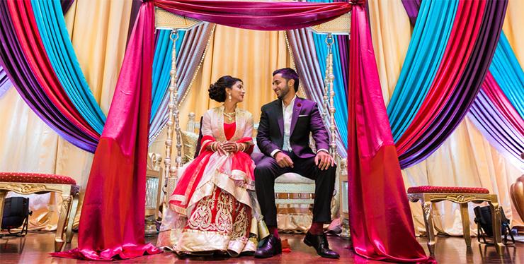 Sabrina Kanani and Abid Manji