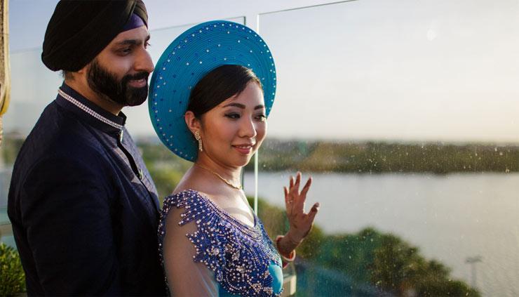 Lana Le and Sanjivan Kohli
