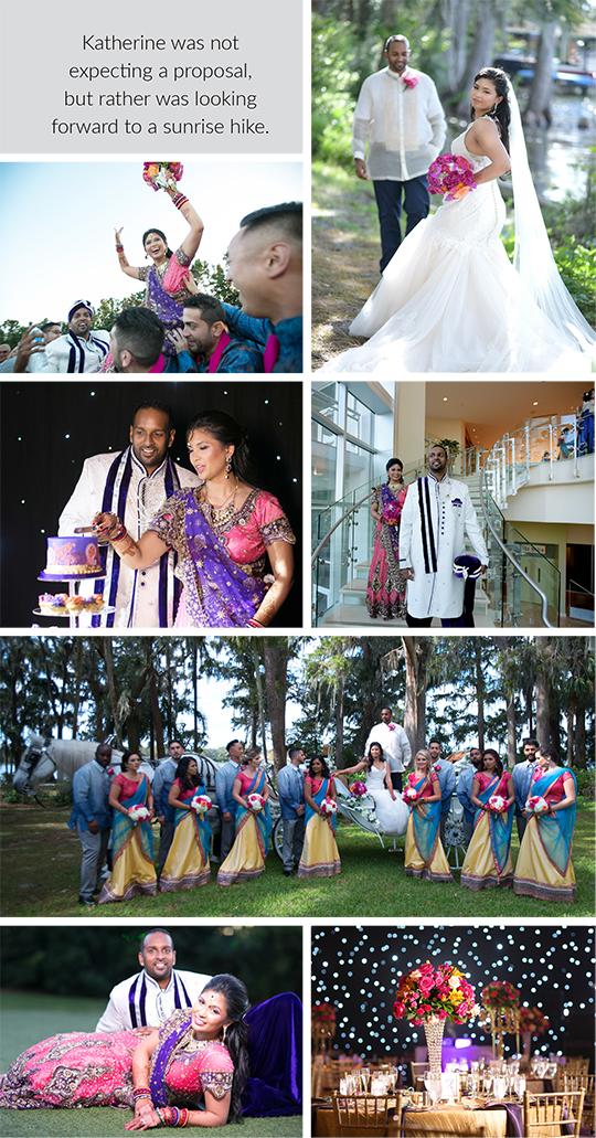 Wedding and Reception of Katherine and Samir