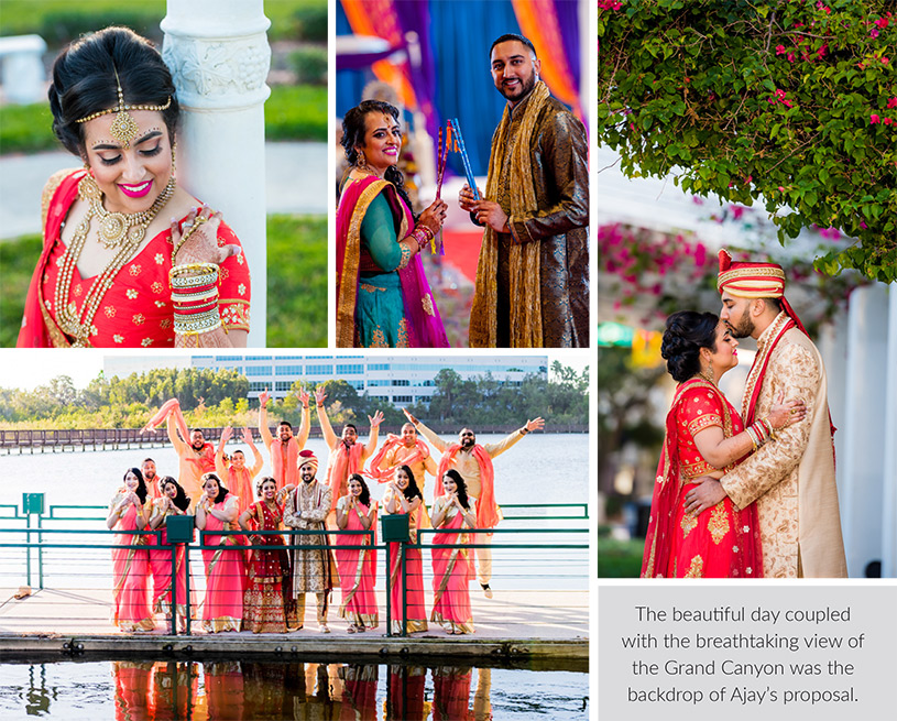 Wedding Ceremony of Krystal and Ajay