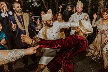 Indian Groom Baraat Capture