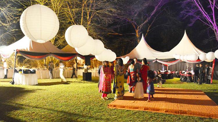 Indian Wedding Reception Decoration