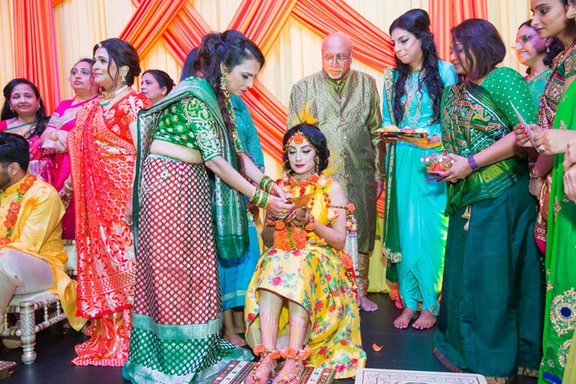 Haldi Ceremony in Shaadi - Indian Wedding Rituals