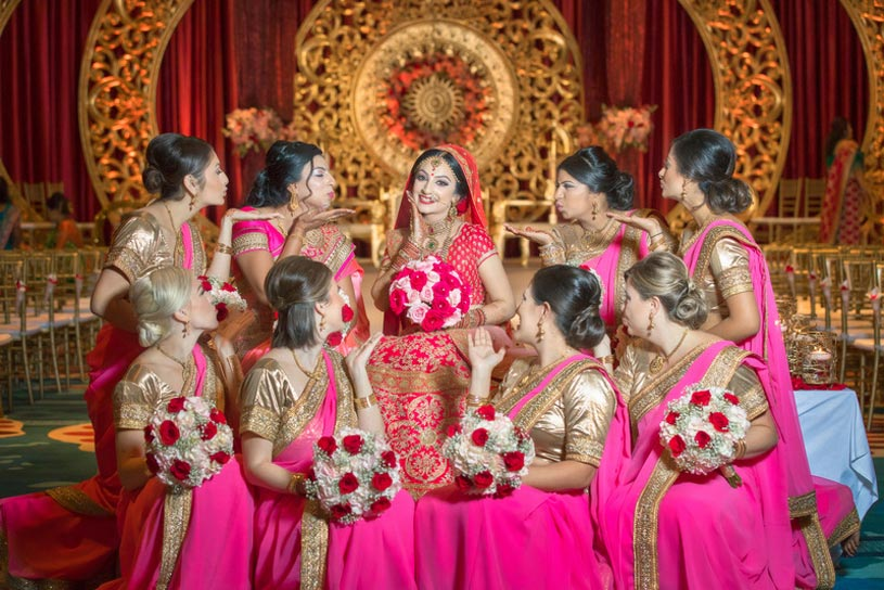 Indian Wedding Bridal Bouquets