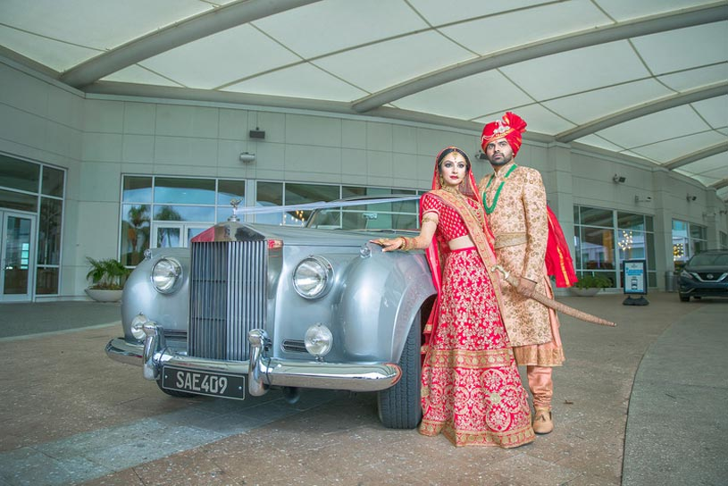 Richa and Shashank Wedding at Hilton Orlando Photography by Amita S. Photography