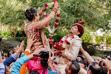 Traditional Jaimala Ceremony