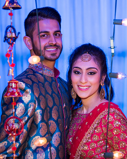 Gorgeous Indian Couple Potrait