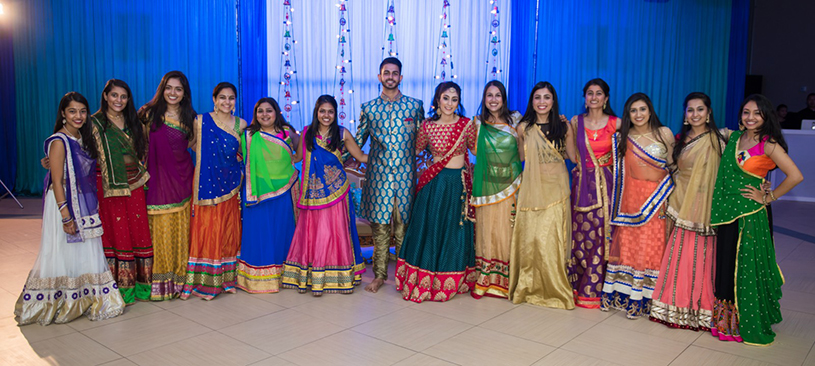 Indian Wedding Sangeet Photoshoot by Digital Dream Studio