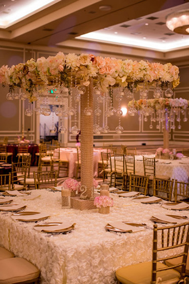 Marvelous Indian Wedding Reception Table