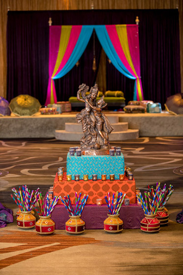 Radha Krishna Entrace Decoration