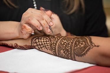 Indian Bridal Mehdi Art