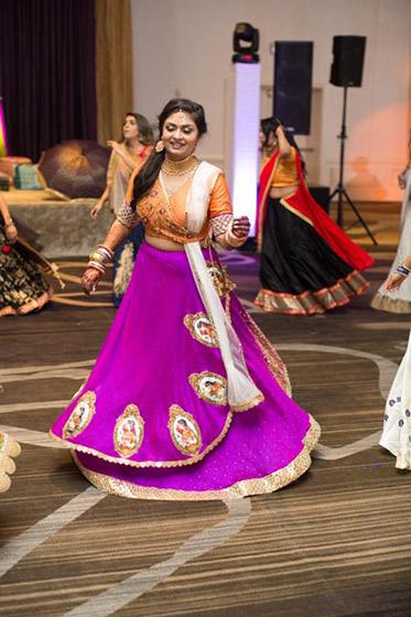 Indian Bride Dance Capture