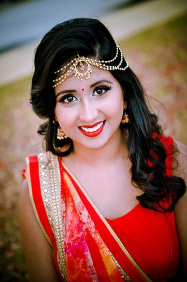 Indian Bride Portrait