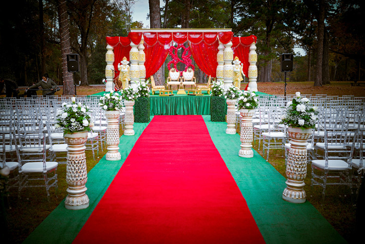 Indian Wedding Decoration by Mandap World