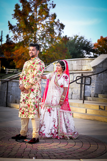 Indian Couple Outdoor Photo Shoot