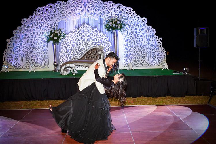 Indian Wedding Reception Decoration by Mandap World