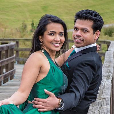 Pooja and Prashant
