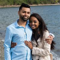Ashley and Jayant