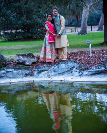 Take a look at this sweet Indian Couple