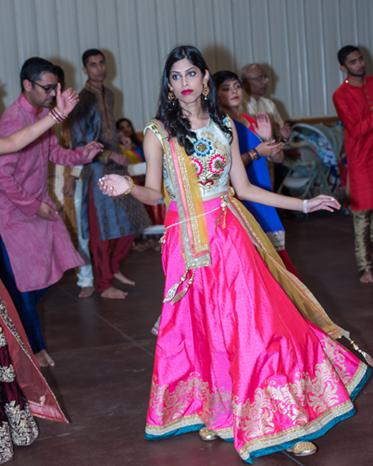 Indian Sangeet Ceremony Guest Capture