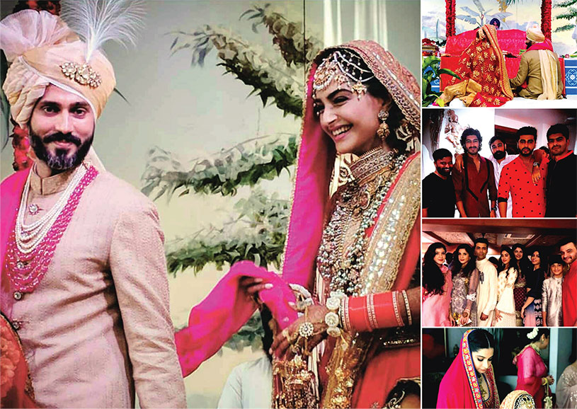 Sonam Kapoor Ties Knot with Long Time Beau Anand Ahuja