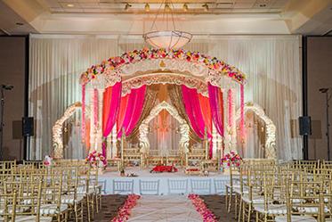 Marvelous Indian Wedding Mandap Decoration