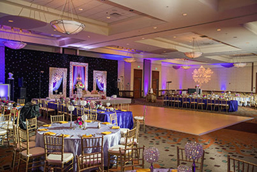 Wonderful Indian Reception Stage Decoration and Table Set up